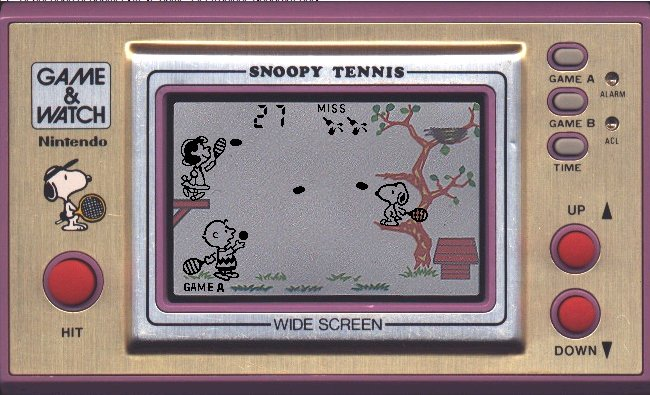 L'univers des Geeks - Page 11 Snoopytennis