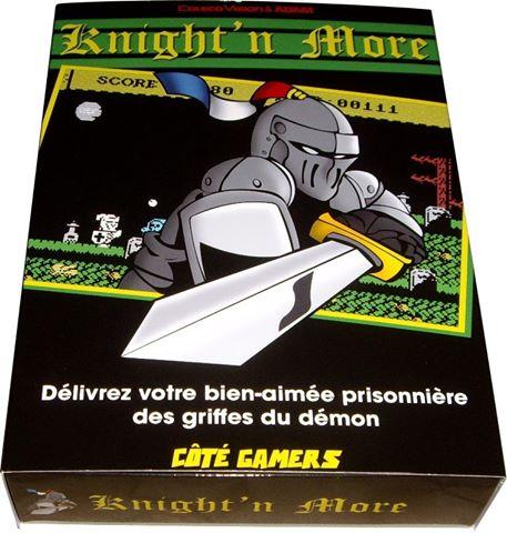 Ghost'n Zombies est de retour sur Colecovision!!!  Knight'n More! Boite_photo1