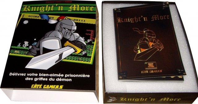 Ghost'n Zombies est de retour sur Colecovision!!!  Knight'n More! Boite_photo2