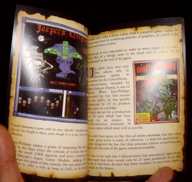 Ghost'n Zombies est de retour sur Colecovision!!!  Knight'n More! Boite_photo3
