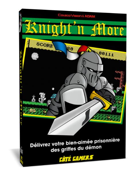 Ghost'n Zombies est de retour sur Colecovision!!!  Knight'n More! Knmb2